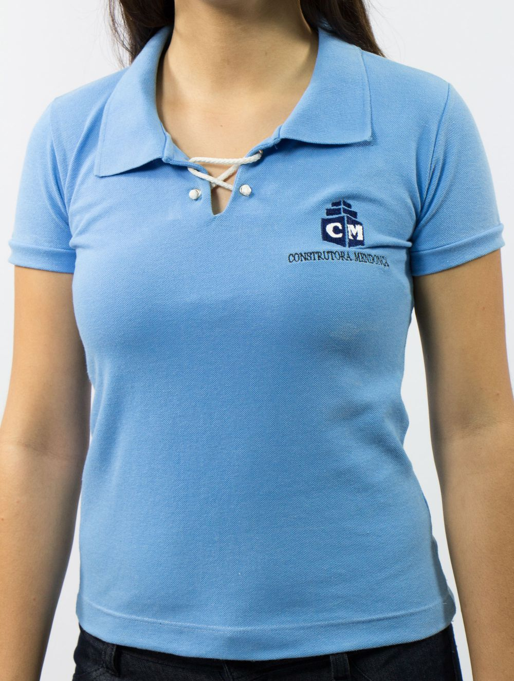 Camisa Polo Piquet Cordão