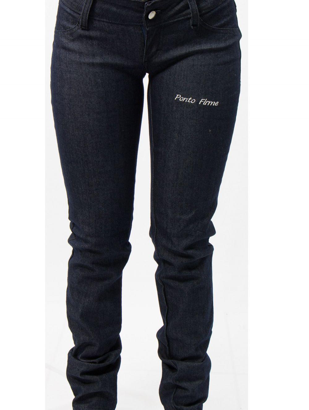 Calça ADM em Jeans com Lycra