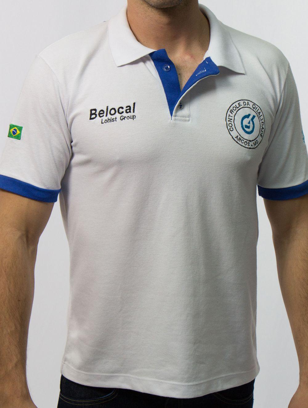 Camisa Polo Piquet Detalhes