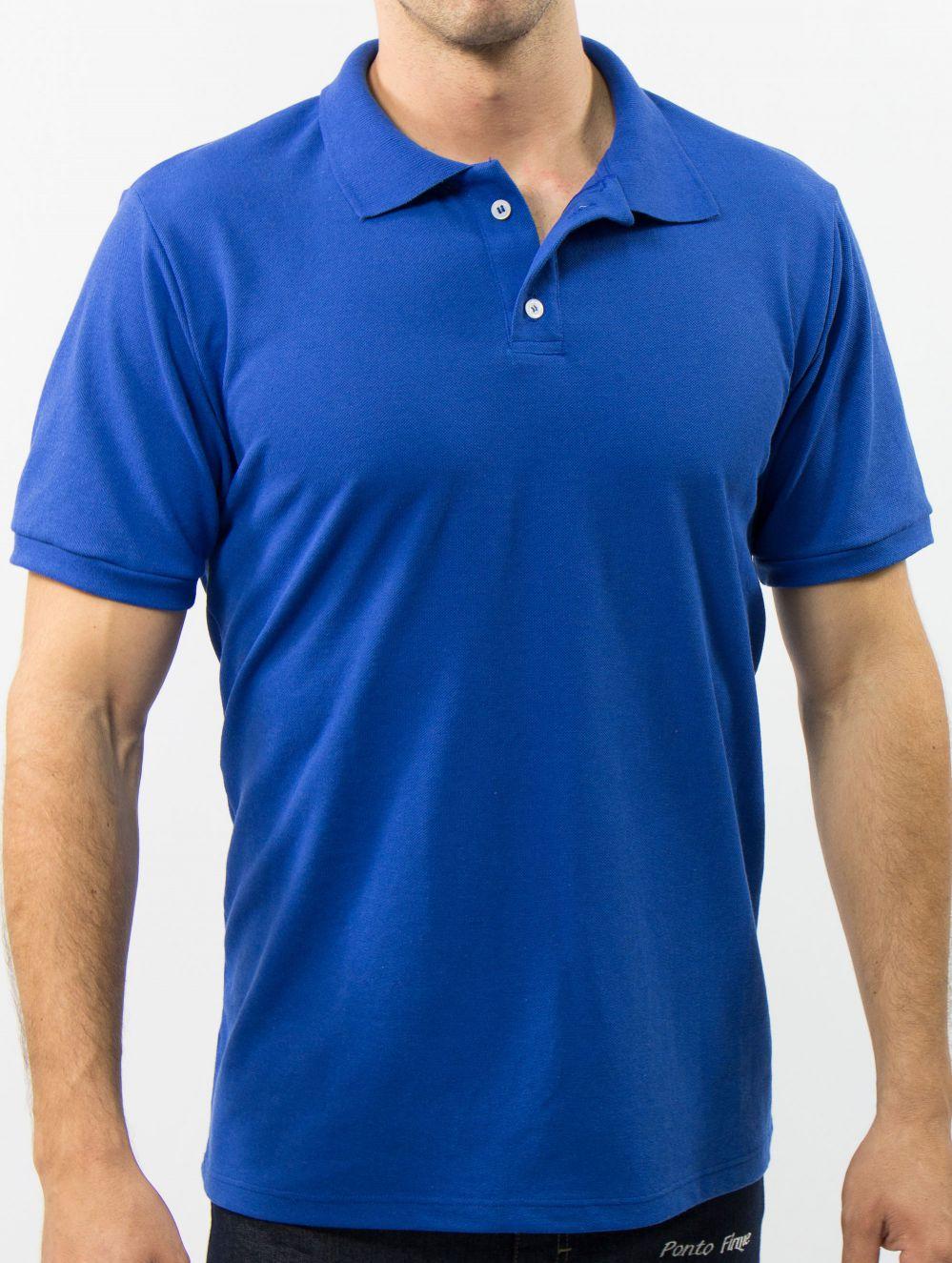 Camisa Polo Piquet Básica