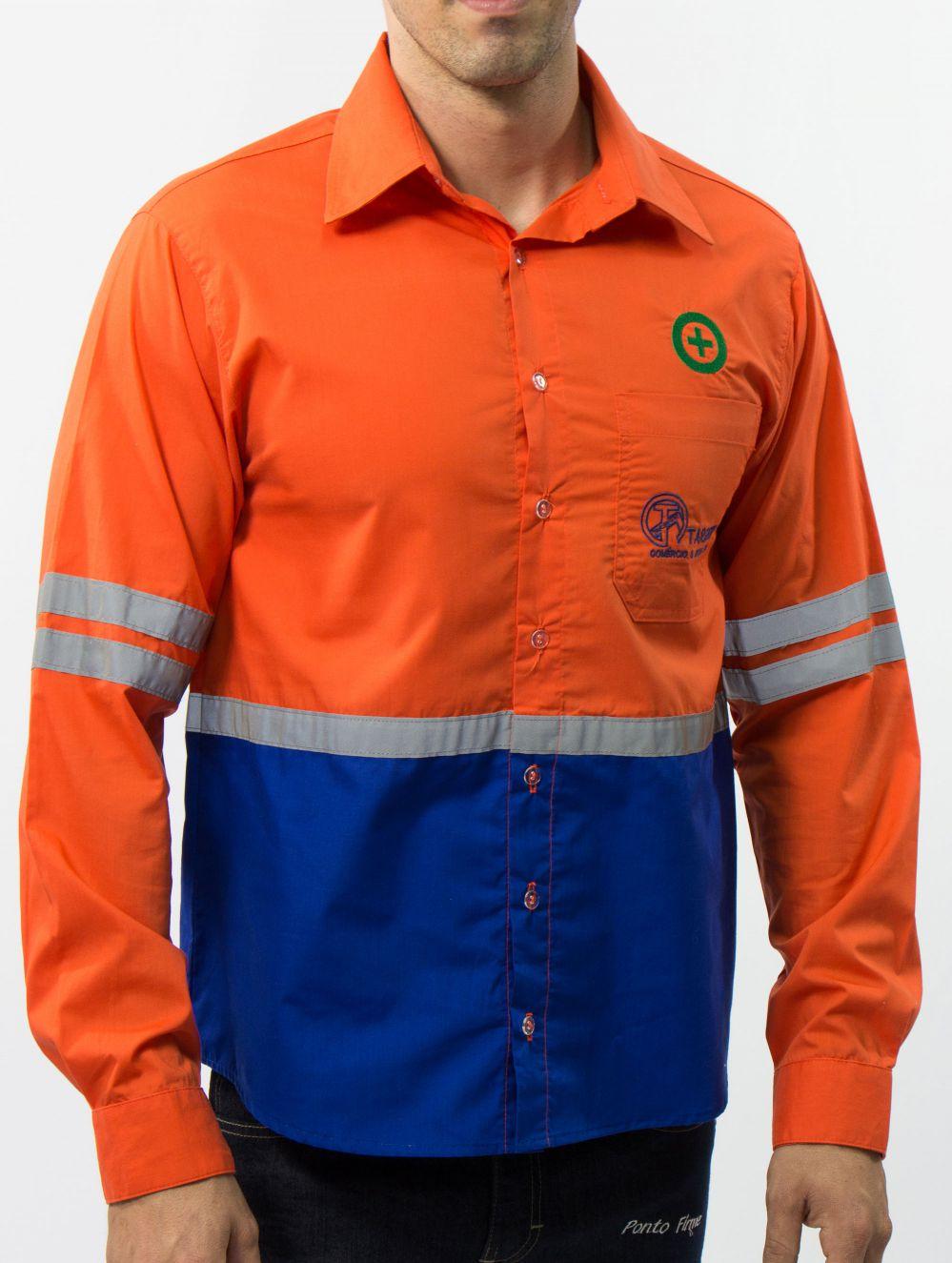 Camisa Operacional com Refletiva 2,5cm