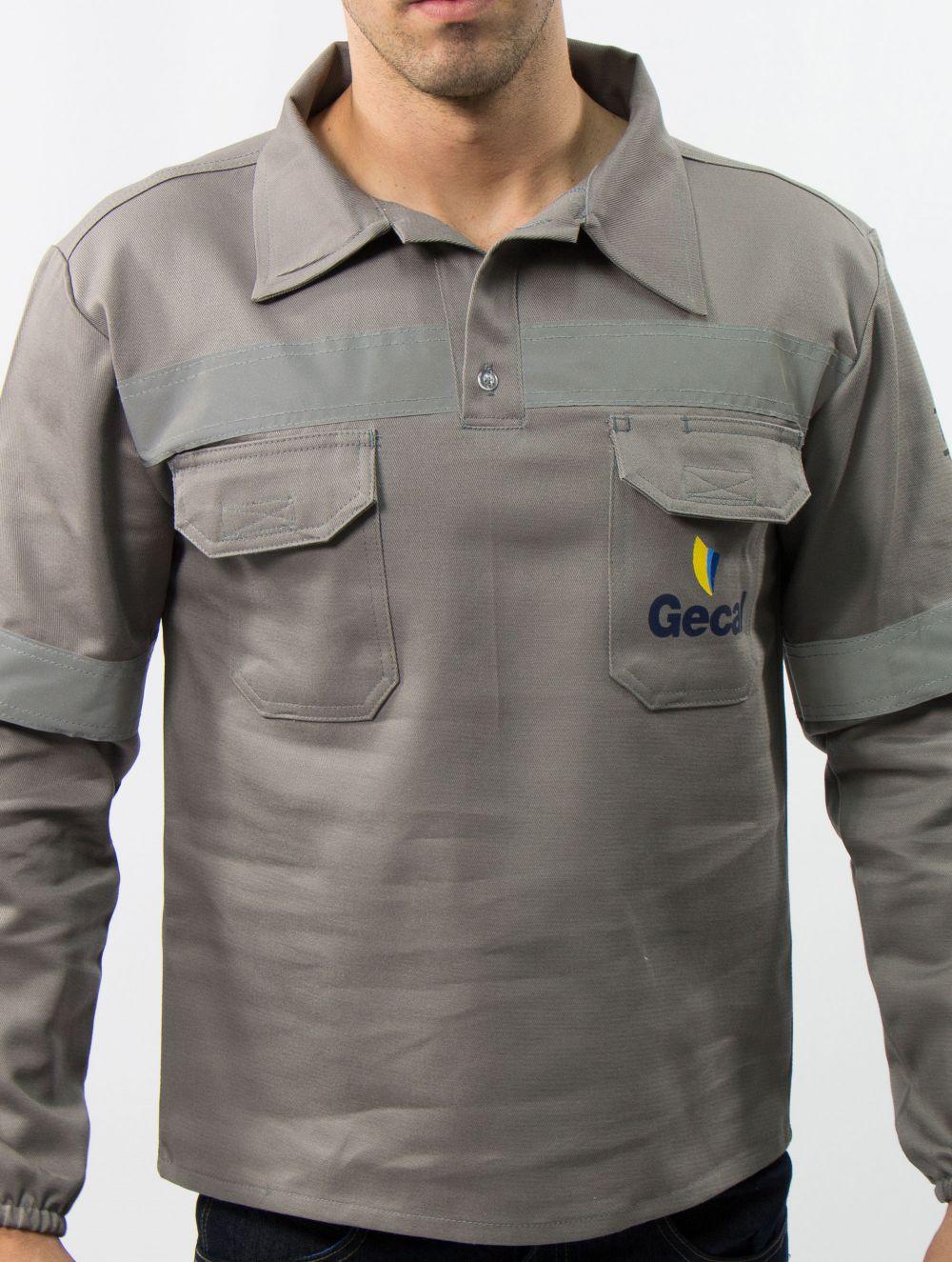 Camisa Operacional com Refletivas 5,0cm