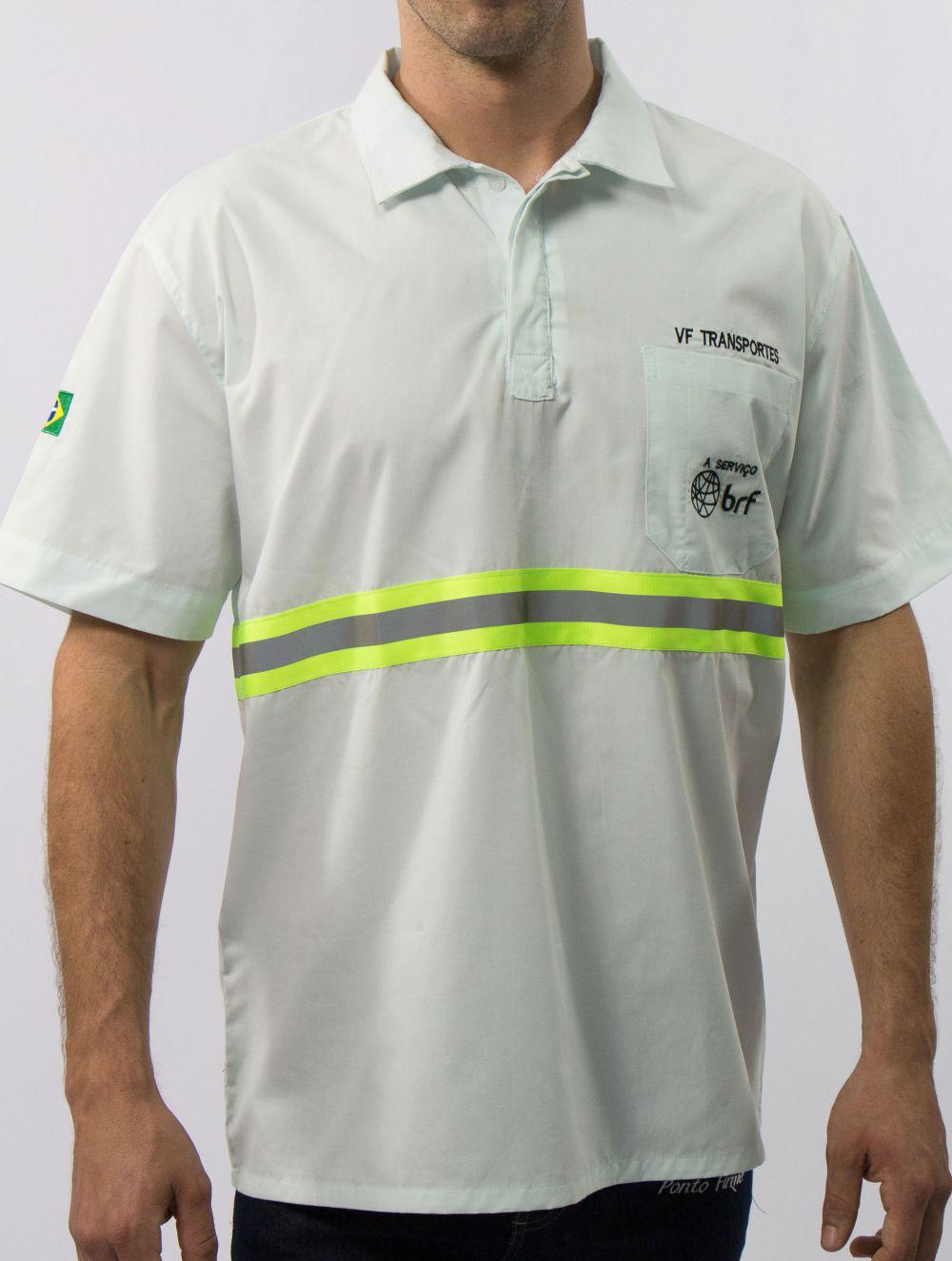 Camisa Operacional Fechada com Refletiva 5,0 cm ...